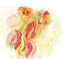 A bouquet of tulips by Gabriele Maurus