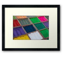 Colours of Kathmandu Framed Print