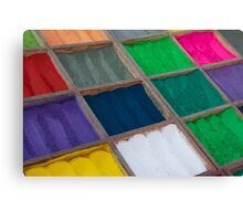 Colours of Kathmandu Canvas Print