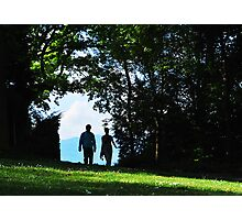 A Walk in The Park Photographic Print