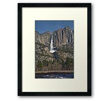 Yosemite Falls Early Spring Framed Print