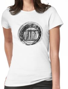 1979 Fiat Badge  Womens Fitted T-Shirt