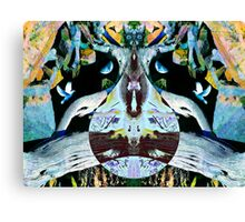 The Cat's Turn in Paradise Canvas Print