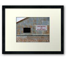 Cotton Gin Framed Print