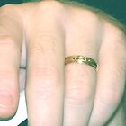 GOLD WEDDING RING by gracestout2007