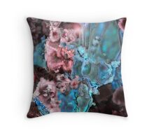 SUNK IN PINK Throw Pillow