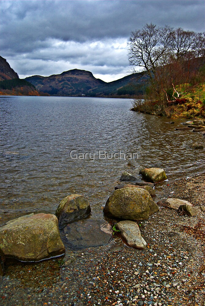 Coloured Pebbles by Gary Buchan