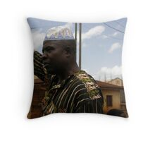 North Cameroon. Throw Pillow