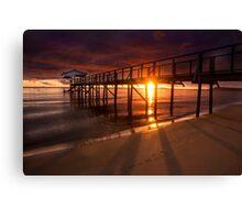 Grateful to see another sunrise - Sorrento, Mornington Peninsula Canvas Print