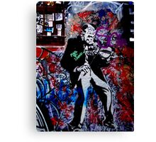 Melbourne Graffiti - Fitzroy II Canvas Print