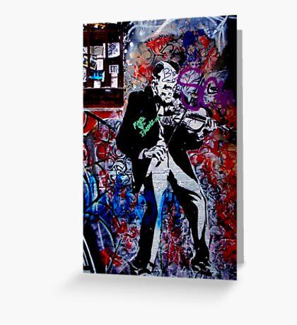 Melbourne Graffiti - Fitzroy II Greeting Card