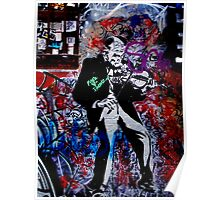 Melbourne Graffiti - Fitzroy II Poster