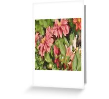 Pretty In Paint 5 Greeting Card