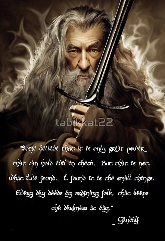Quotes From Gandalf Quotesgram