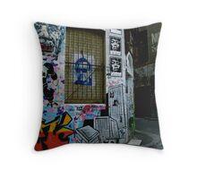 Melbourne Graffiti - Fitzroy III Throw Pillow