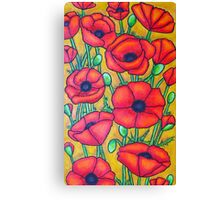 Poppies I Canvas Print