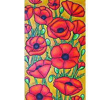 Poppies I Photographic Print