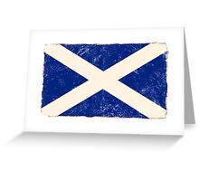 Scottish Flag Greeting Card