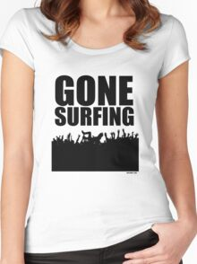 Gone Surfing Women's Fitted Scoop T-Shirt