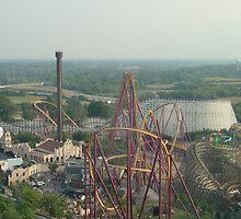 Raging Bull, Six Flags Great America by coasterfan94