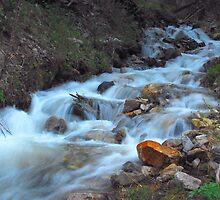 Taos Water Fall  by DanTheBugleMan