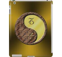 Capricorn & Rat Yang Metal iPad Case/Skin