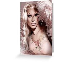 Miss Fame Greeting Card