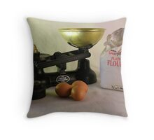 Baking Day Throw Pillow