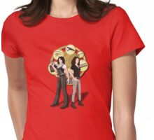 Solving Puzzles, Saving the day. Womens Fitted T-Shirt
