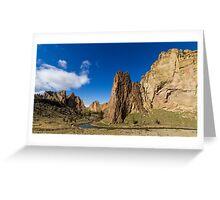 Smith Rock, Oregon Greeting Card