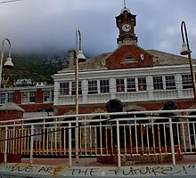 Muizenberg Train Station by StefZao