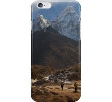 A Long Trek iPhone Case/Skin