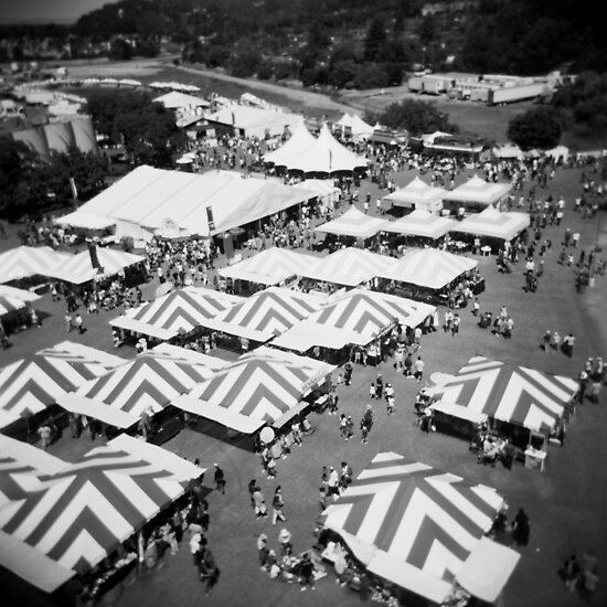 Medium Format Photography: Fairgrounds by irisphotography