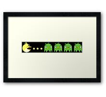 Angry Birds Pac-Man Framed Print