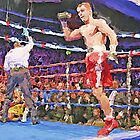 Knockout Painting by jpgilmore