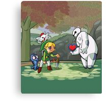 Heart for the Hero Canvas Print