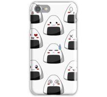 Onigiri Emotions iPhone Case/Skin