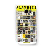 Broadway Playbill Collage Samsung Galaxy Case/Skin