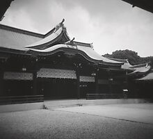 japanese temple by irisphotography