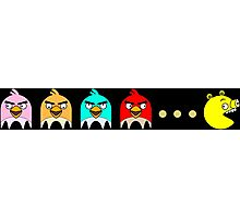 Angry Birds Pac-Man 2 Photographic Print