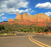 The Road To Sedona by James Eddy