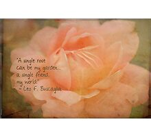 Blooming Tribute Photographic Print