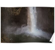 Cascading Water at Snoqualmie Falls Poster