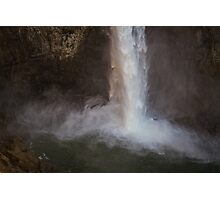 Cascading Water at Snoqualmie Falls Photographic Print