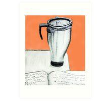 Coffee and Homework Art Print