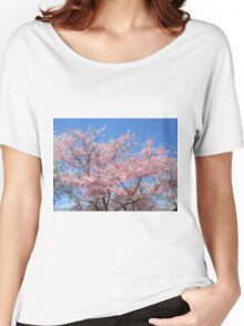 Pink Blossoms  Women's Relaxed Fit T-Shirt