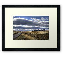 Prairie Road Framed Print