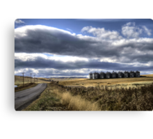 Prairie Road Canvas Print
