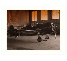Planes Of Past #1 Art Print