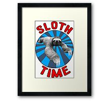 Sloth Time Framed Print